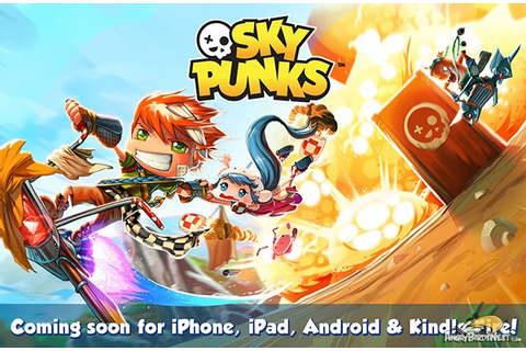 Meet the Sky Punks – The Upcoming Game From Rovio Stars ...