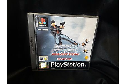 Time Crisis: Project Titan, Playstation 1 Game, 1 Disc ...