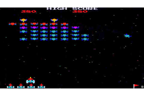 ARCADE HACK GALAXIAN PART X FROM FOUR PLAY ROM BY Macro IN ...