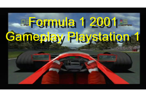 Formula 1 2001 Gameplay Playstation 1 - YouTube