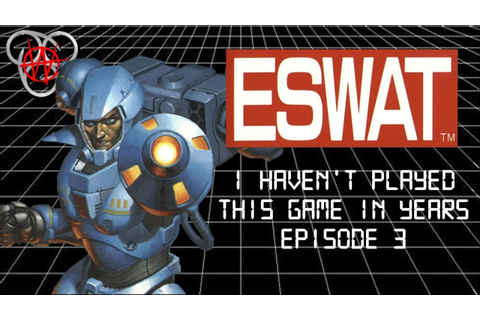 ESWAT - City Under Siege Genesis Review - I Haven't Played ...