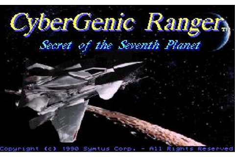 Cybergenic Ranger Download (1990 Arcade action Game)