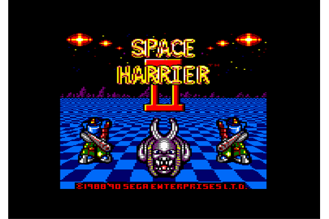 Download Space Harrier II - My Abandonware