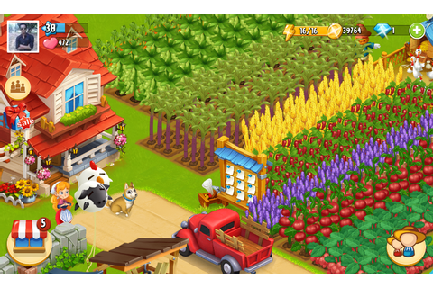 "Free Android Games "" Happy Farm : Candy Day v2.7.5 "" An ..."