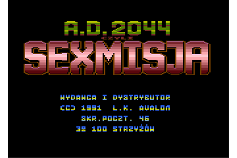 Download A.D. 2044: Seksmisja (Atari 8-bit) - My Abandonware