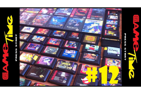 Classic Game Collecting #12 | Sega Genesis Game Collection ...