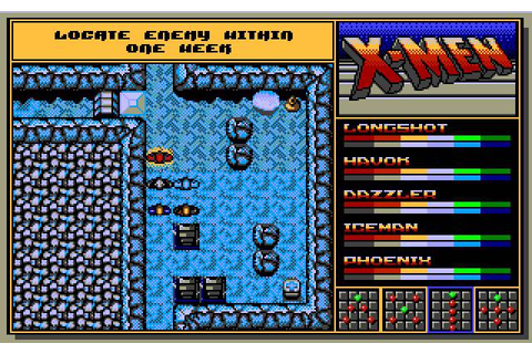 Download X-Men II: The Fall of the Mutants - My Abandonware
