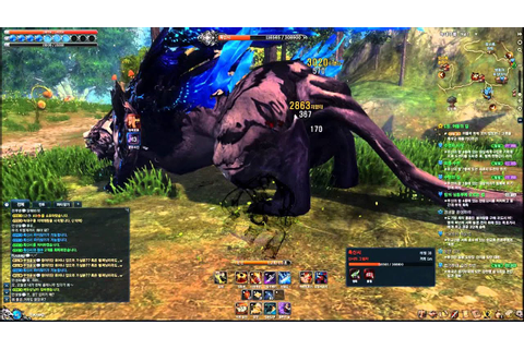 Blade and Soul Assassin Gameplay Field Boss Solo ~ - YouTube