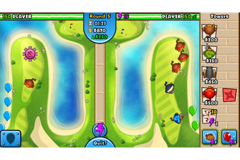 Bloons TD Battles, a balloon-busting throw-down for ...