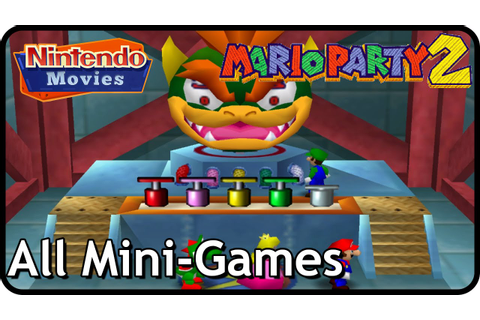 Mario Party 2 - All Mini-Games - YouTube