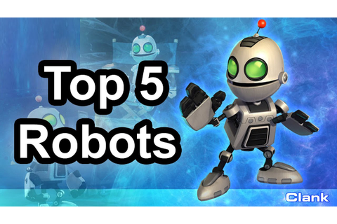 Top 5 - Robots in games - YouTube