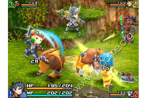 Final Fantasy Crystal Chronicles: Echoes of Time (âm vọng ...