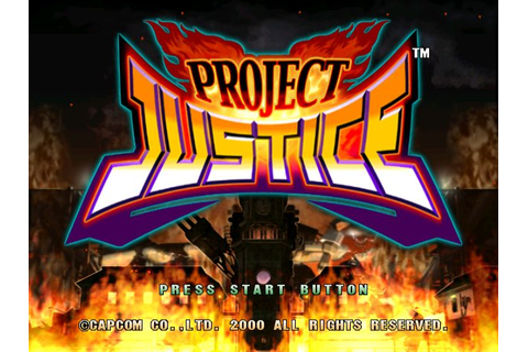 Project Justice: Rival Schools 2 (2000) by Capcom ...