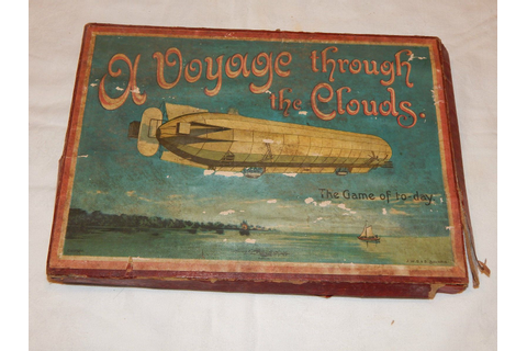 1910 Zeppelin Game A Voyage Through The Clouds Spears ...