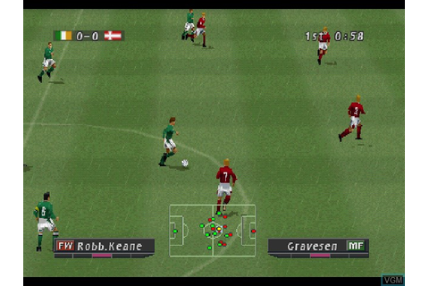 Pro Evolution Soccer 2 for Sony Playstation - The Video ...