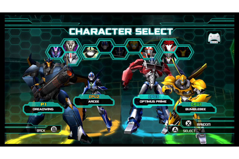 Transformers Prime The Game Wii U Multiplayer Brawl part 2 ...