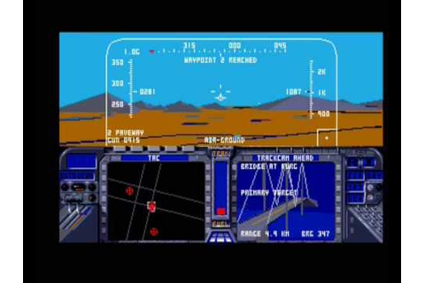 F 19 Stealth Fighter MICROPROSE - YouTube