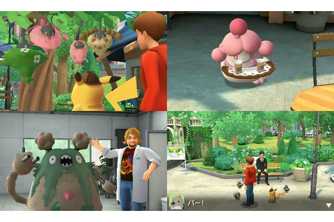Great Detective Pikachu highlights daily life with Pokemon ...