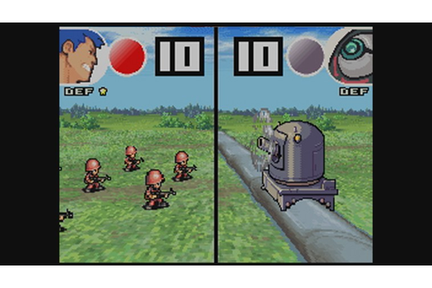 Advance Wars: Dual Strike Wii U Virtual Console footage ...
