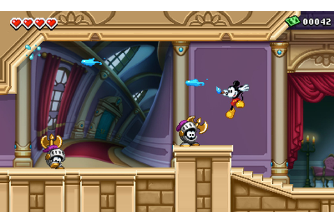 Disney Epic Mickey: Power of Illusion (3DS) Game Profile ...
