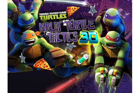 Teenage Mutant Ninja Turtles: Ninja Turtle Tactics 3D ...