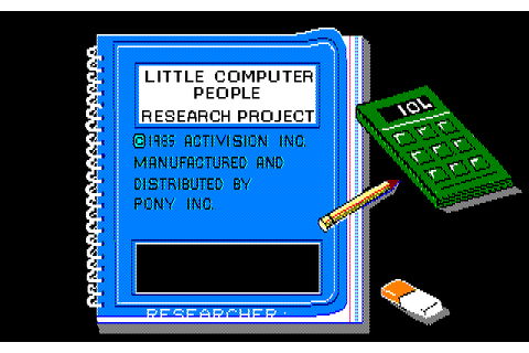 Download Little Computer People - My Abandonware
