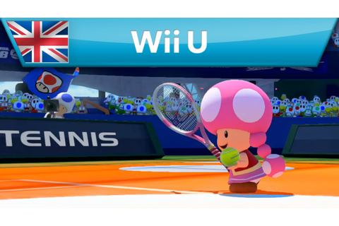 Mario Tennis: Ultra Smash - Toadette gets on court (Wii U ...