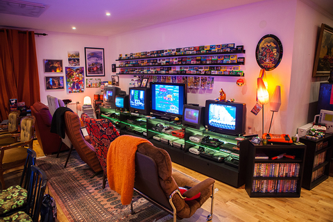 Game Room updated! | Retro Video Gaming