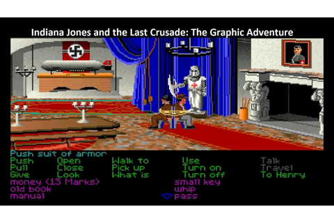 Indiana Jones And The Last Crusade: The Graphic Adventure ...