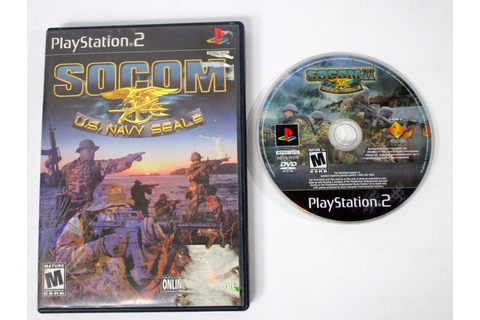 SOCOM US Navy Seals game for Playstation 2 | The Game Guy