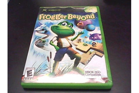 Frogger Beyond Software Video Game Software All XBox Games ...