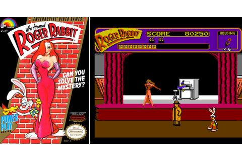 Play Who Framed Roger Rabbit on NES