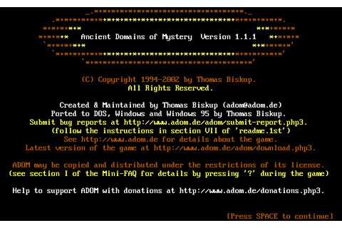 Download Ancient Domains of Mystery - My Abandonware