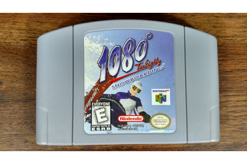 1080 Ten Eighty Snowboarding Nintendo 64 Game N64 by Holodukes