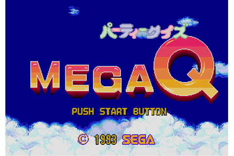 Download Party Quiz: Mega Q (Genesis) - My Abandonware