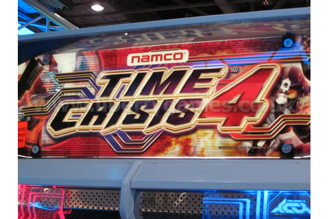 Namco Time Crisis 4 Twin Arcade Machine | Liberty Games