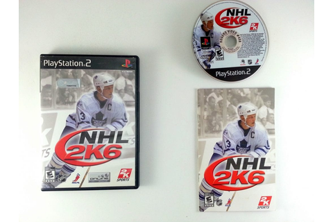 NHL 2K6 game for Playstation 2 (Complete) | The Game Guy
