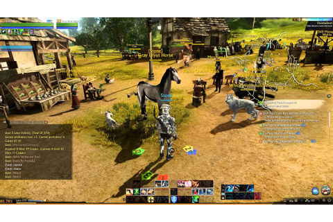 ArcheAge - Gameplay - YouTube