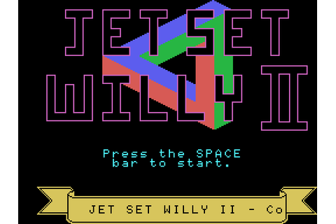 Jet Set Willy II: The Final Frontier (1985) MSX game
