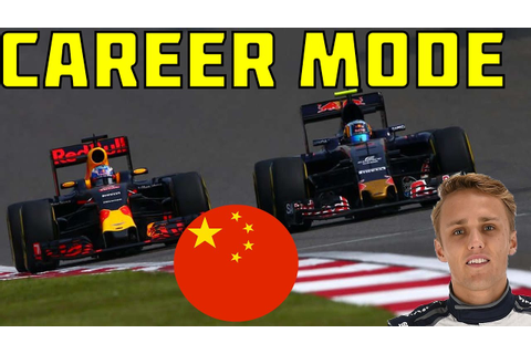 F1 2016 Game Career Mode - Part 24 CHINESE GRAND PRIX ...
