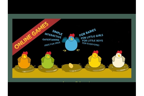 Funny Chicken and Chicks Games ♥ Online Games for Kids ...