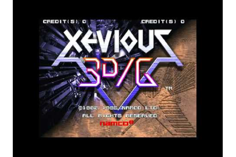 Xevious 3D/G (Arcade) Game Clear~ - YouTube