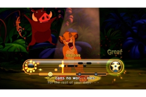 Disney Sing It: Family Hits (Software) review PS3