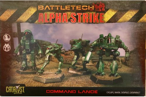 BattleTech Alpha Strike: Command Lance Pack Board Game ...