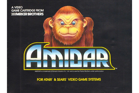 Atari 2600 VCS Amidar : scans, dump, download, screenshots ...
