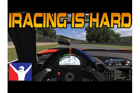 iRacing THIS GAME IS HARD - YouTube