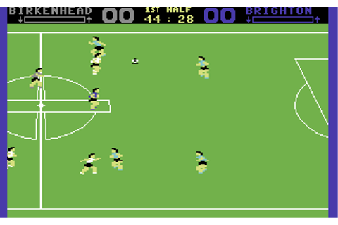 Gary Lineker's Superstar Soccer - Commodore 64 Game / C64 ...