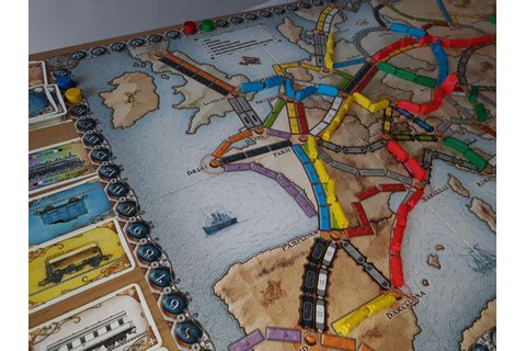 Ticket To Ride Europe | Board Game Bible