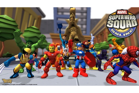 Marvel Super Hero Squad Online Launches Beta, Offers ...