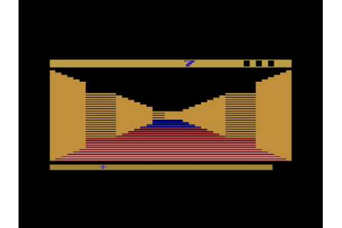 Tunnel Runner for the Atari 2600 - YouTube